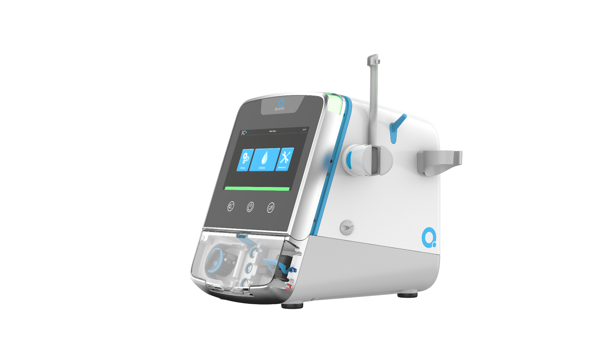 Quanta portable dialysis unit